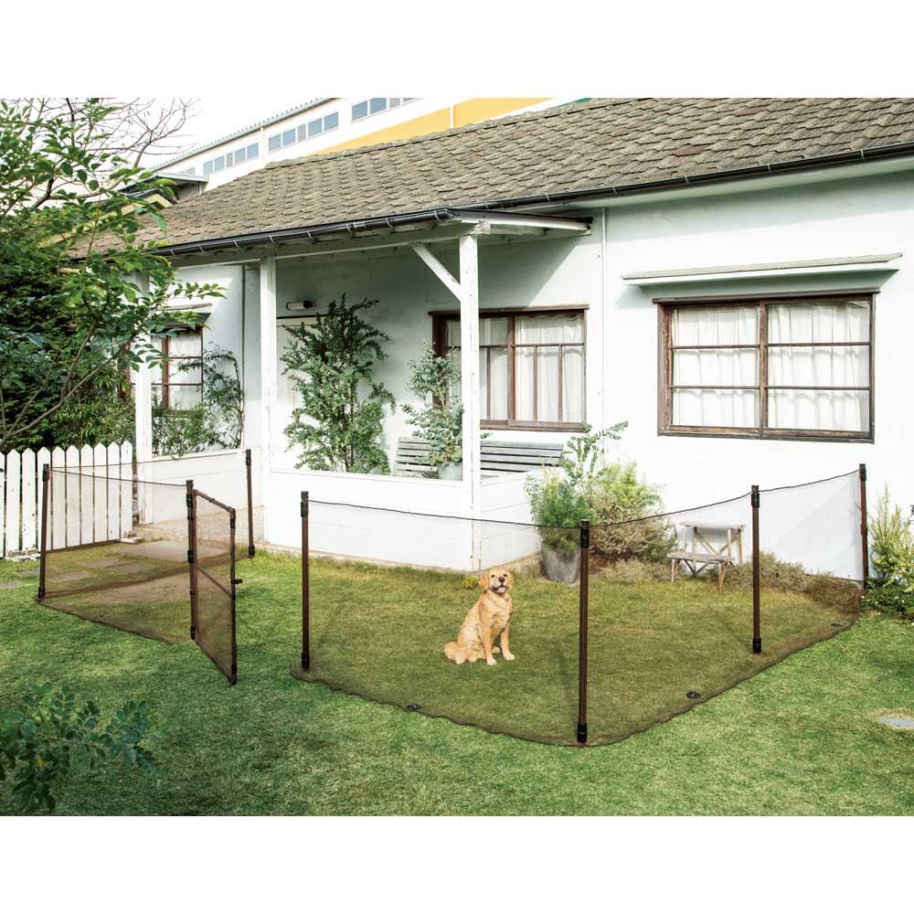 お手軽フェンスゲート単品 ゲート部のみのお届け。フェンス部は別売りです。