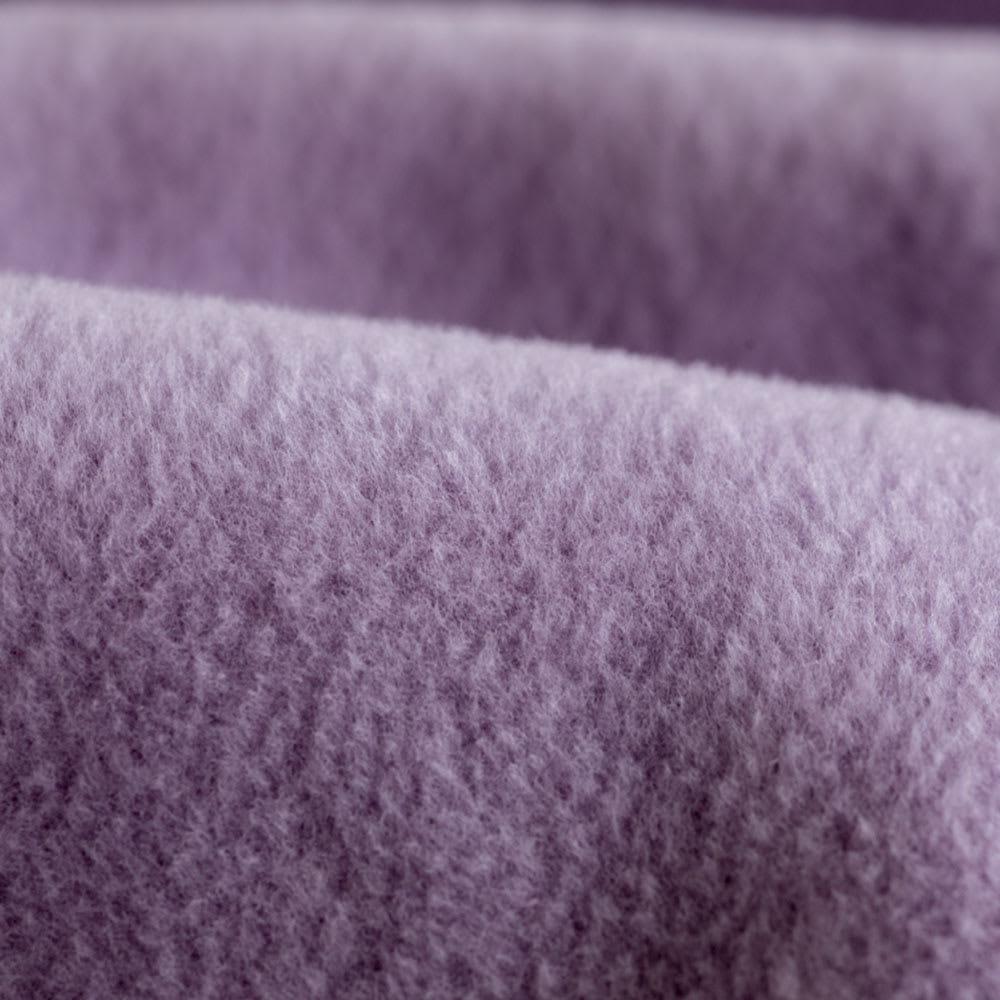 【三井毛織】エジプト超長綿やわらか綿毛布 敷き毛布 (エ)グレイッシュパープル 生地アップ