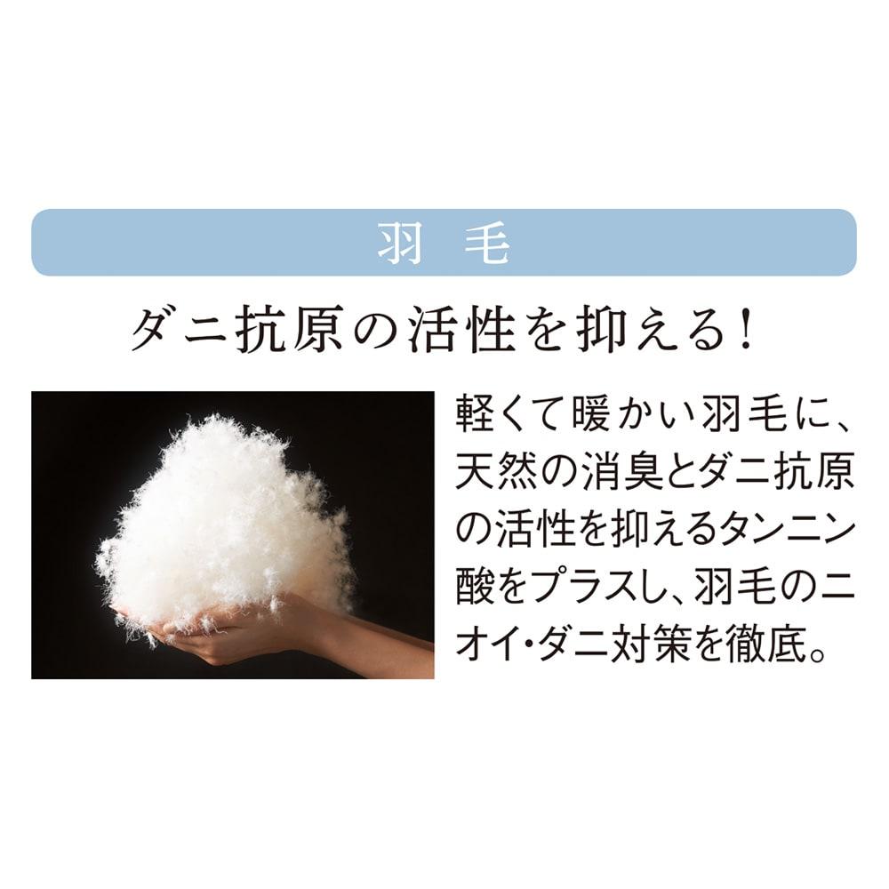 ダニゼロックお得な羽毛布団完璧セット(布団+カバー) 敷布団用