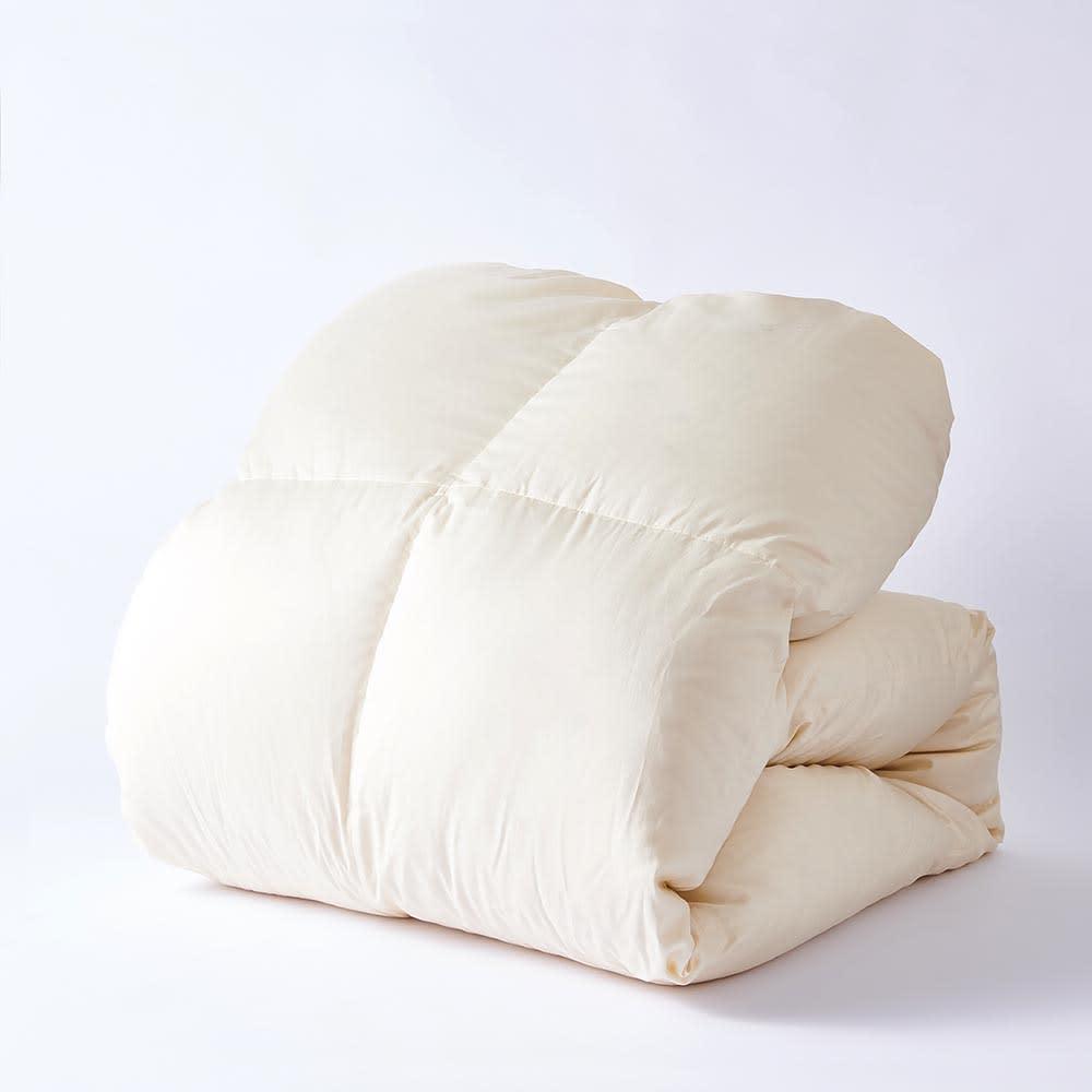 ダニゼロックお得な羽毛布団完璧セット(布団+カバー) ベッド用 ダニゼロック羽毛布団