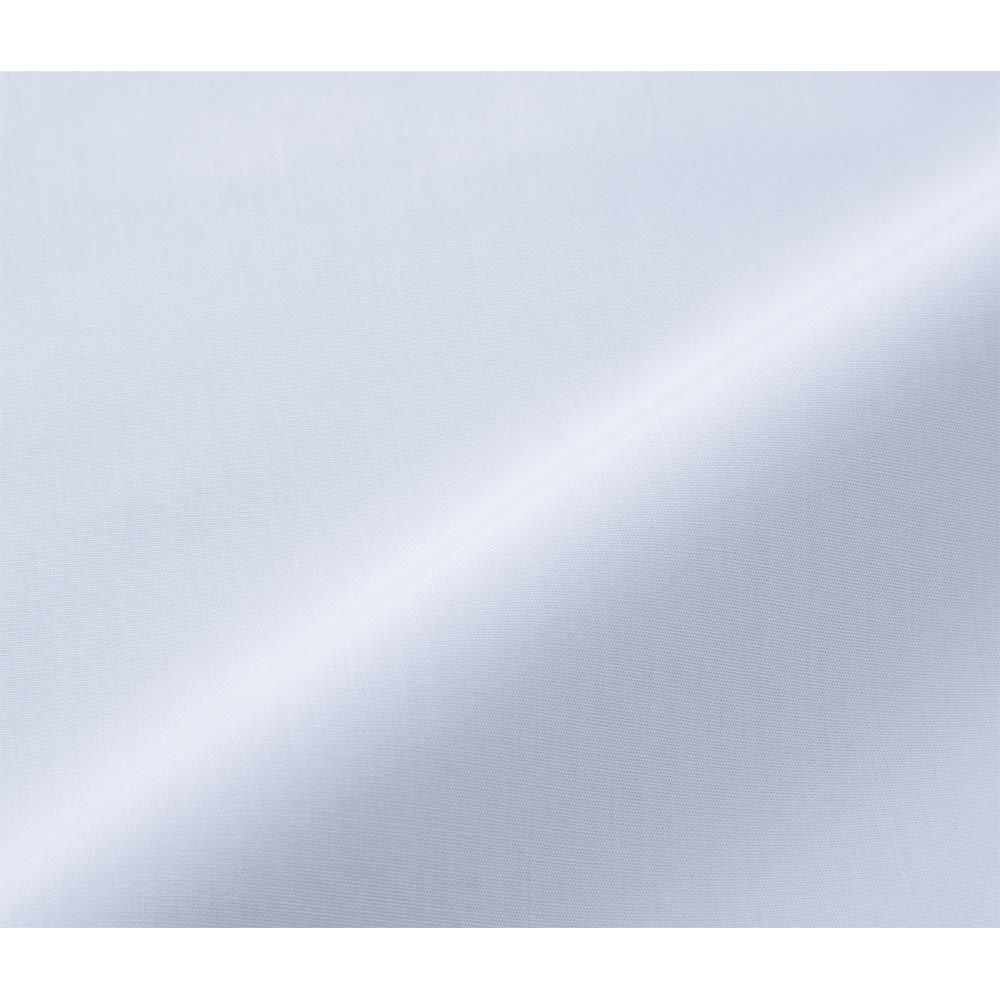 抗ウイルス加工布団シリーズ 抗菌防臭敷きパッド (ア)ブルー 抗ウイルス加工を施した生地は、天然繊維の綿100%。肌あたりのやさしさにもこだわりました。