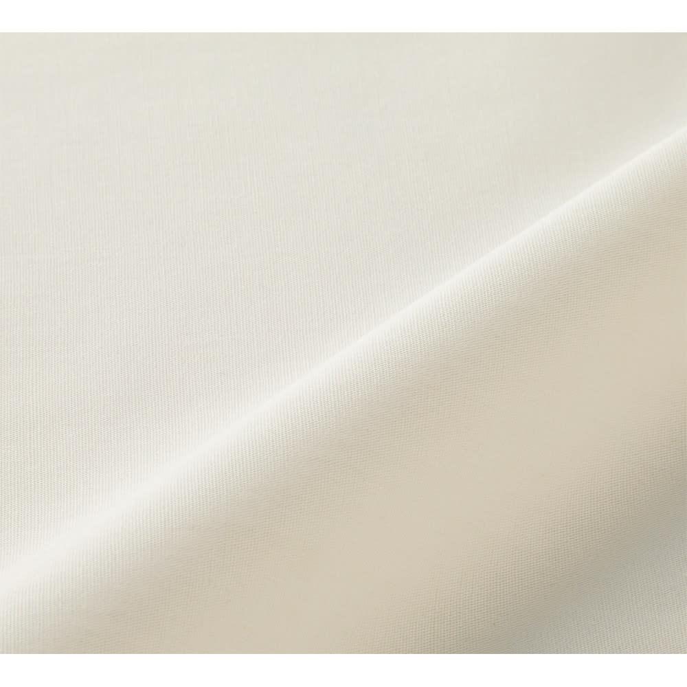 乾燥機OK!倍速速乾リコットンシーツ&カバーシリーズ ベッドシーツ (ア)アイボリー
