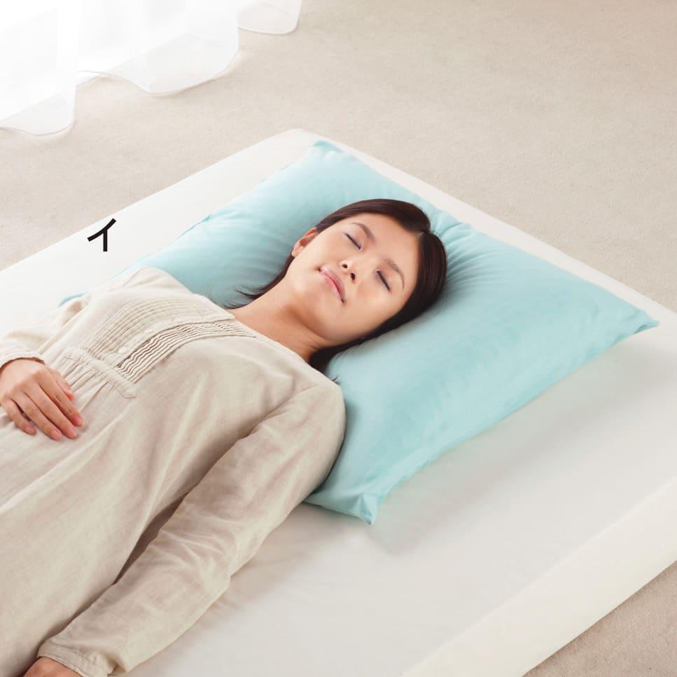 正方形判 (フォスフレイクス 安眠枕 枕のみ)
