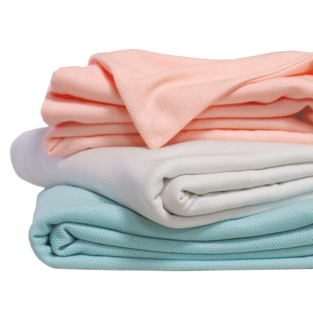 フォスフレイクス枕クラシックシリーズ 専用枕カバー単品 上から(ア)ピンク、(ウ)ホワイト 、(イ)ブルー