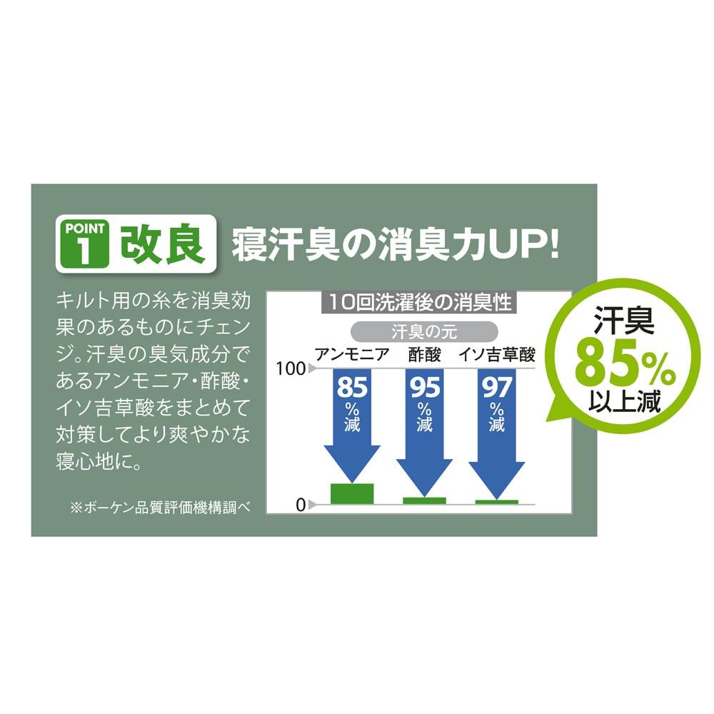 速乾・消臭アクアジョブ(R)パッドシーツ レギュラータイプ 汗臭85%以上消臭してくれます!