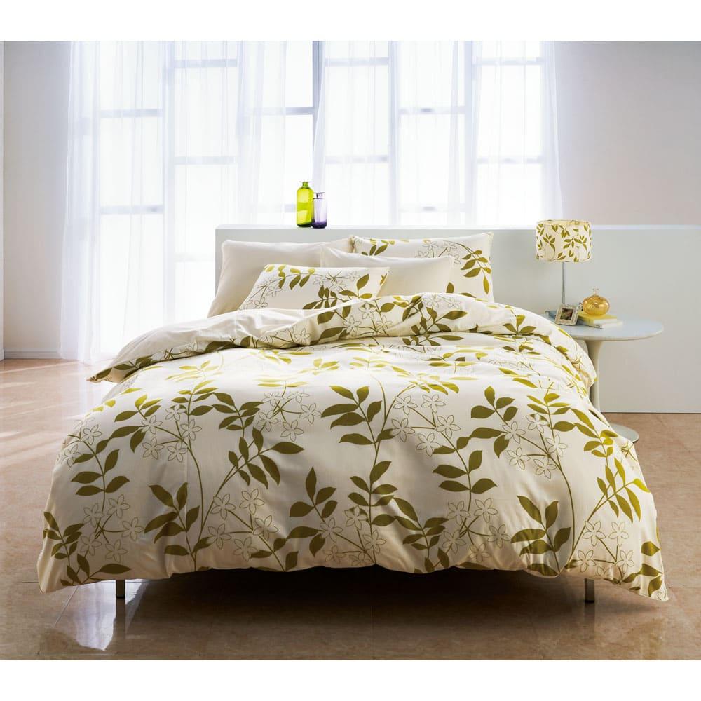 スーパーソフト加工 枕カバー 同色2枚組 (オ)アイボリー