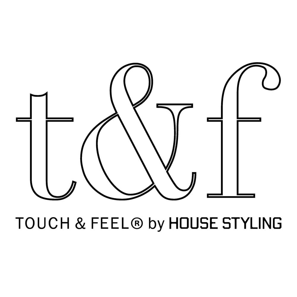 スーピマ超長綿を贅沢に使用したサテン織り ピローケース 「TOUCH&FEEL(R)」は『肌が触れて、感じて、心が満たされる』ことをコンセプトとした、ディノスのファブリックブランド。