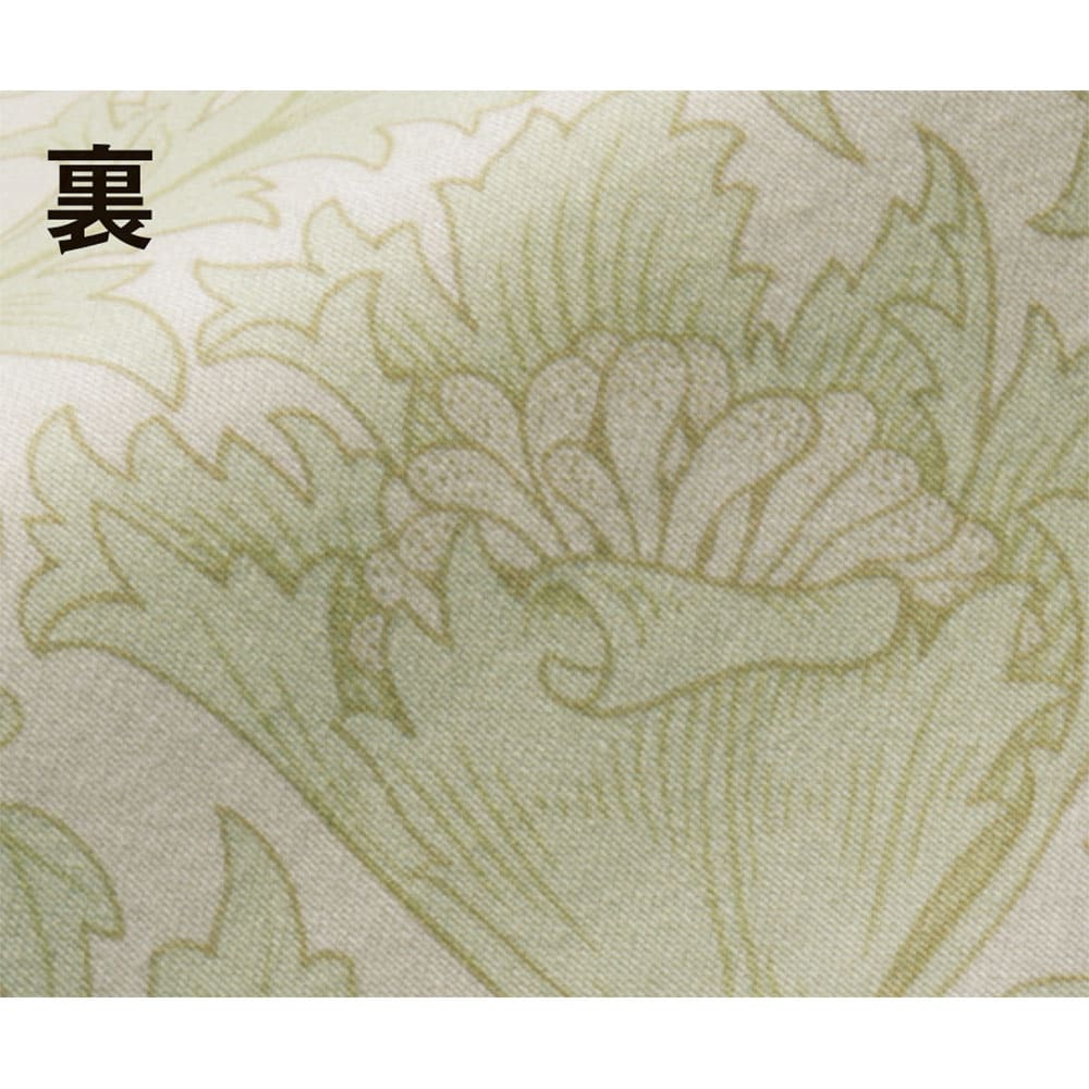 V&Aアネモネ柄 衿カバー (ア)ベージュ裏