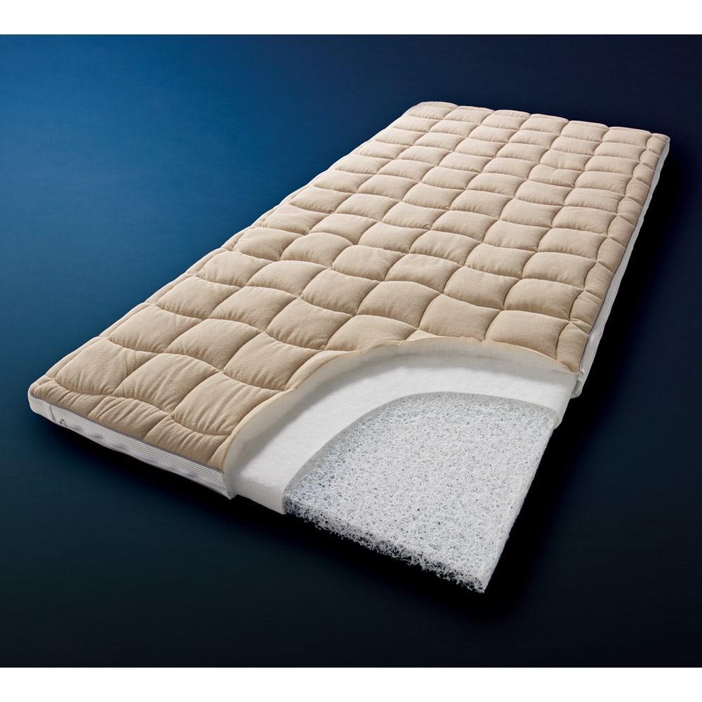 ブレスエアー(R)敷布団 ネオ シンプルセット 通気性のよい高反発素材 ブレスエアー(R)敷布団ネオ