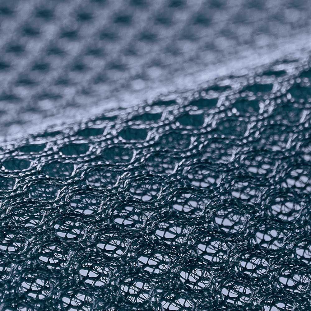 【アキレス×dinos】3つ折りマットレスシリーズ 厚さ7cm 調湿タイプ [裏面メッシュ] 不快な湿気やムレをウェーブ加工と側生地裏面のメッシュでサラッと放出。