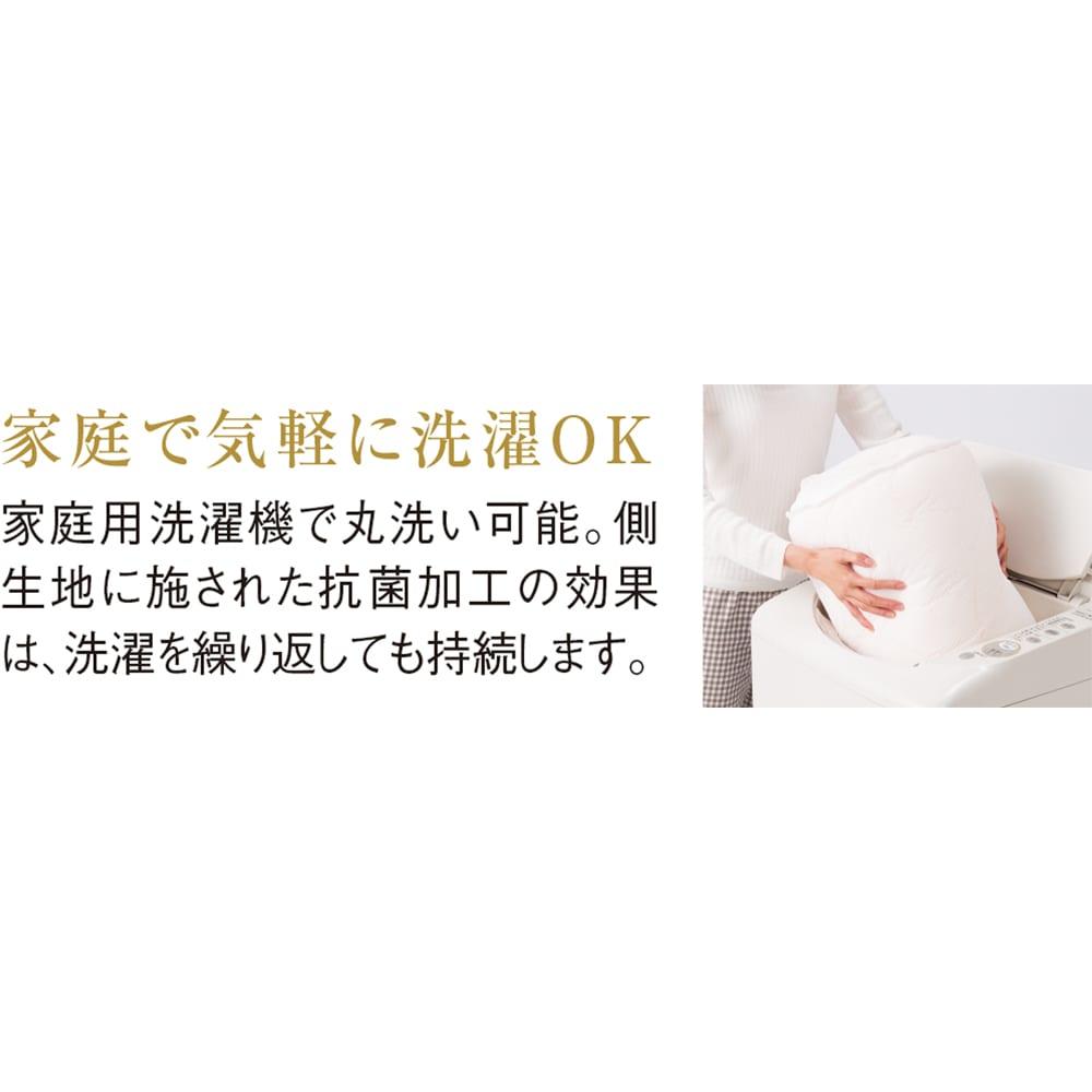 Afitお得なセット掛け敷き枕セットシングル(敷布団) 掛け布団の中わたで使用しているダンミックスの5逸 5逸「丸洗いOK」