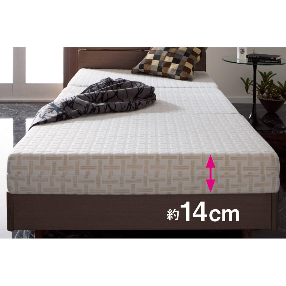 Afitお得なセットお得な掛けマットレス枕セットシングル(マットレス) マットレス(※写真はセット品同様のシングルサイズ)