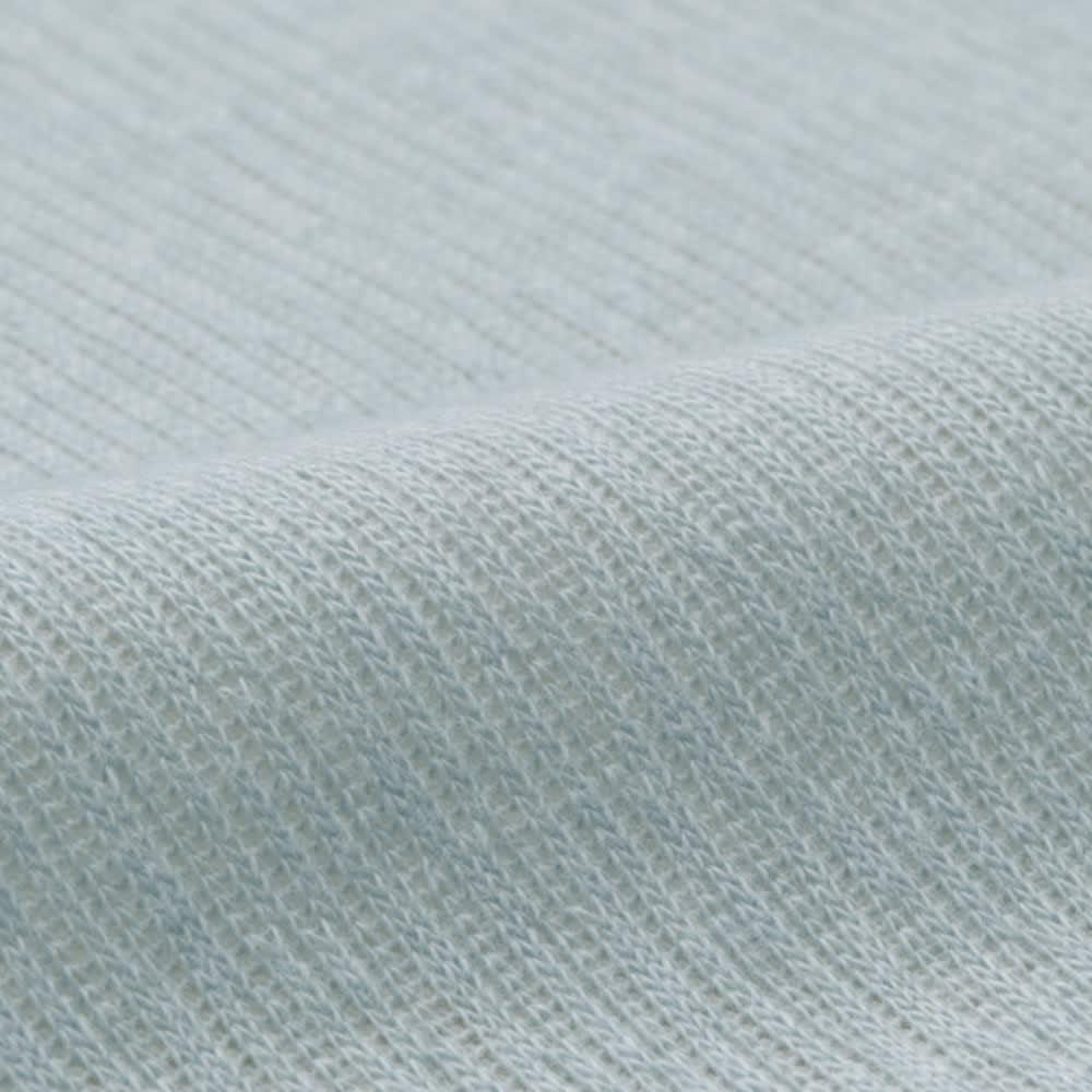 ファミリー布団用 吸水速乾さらさらパッドシーツ(ファミリーサイズ・家族用) 肌面はやわらかい綿素材。