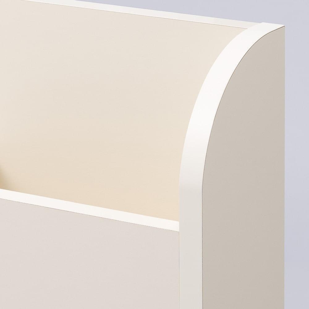 寝そべりながらタブレットが使えるベッド フレームのみ (ア)ホワイト
