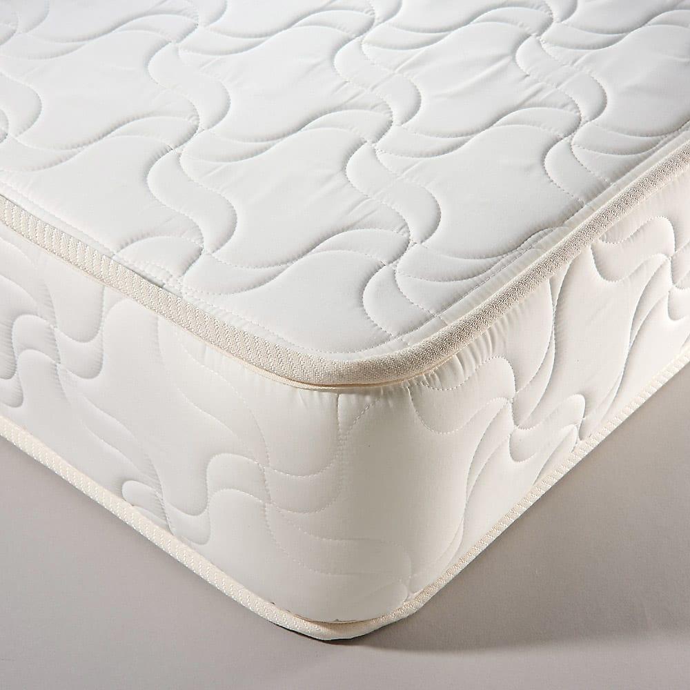 30サイズバリエーションベッド(国産マットレス付き) 長さ180cm 幅76~140cmまで5サイズ マットレスは国産メーカーのボンネルコイルマットレス