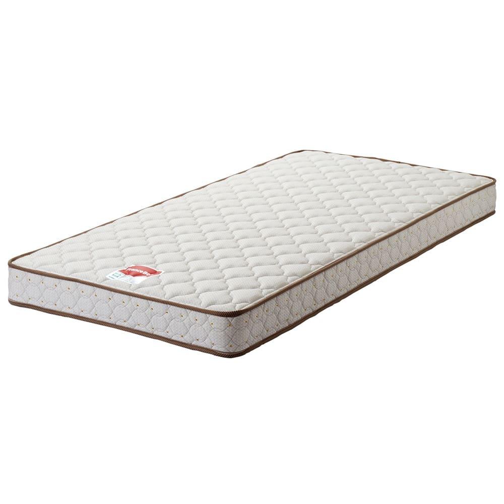 フランスベッド 天然木棚付き引き出しベッド レギュラーマットレス(厚さ16cm)付き