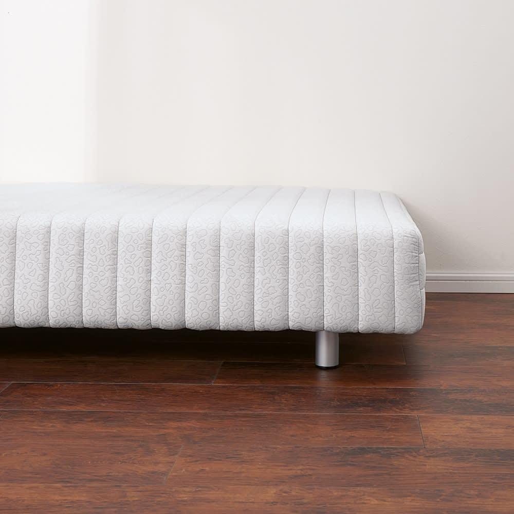 France Bed/フランスベッド 軽くて丈夫な脚付きマットレスベッド ※写真はロータイプ・脚高9.5高さ32cmです。