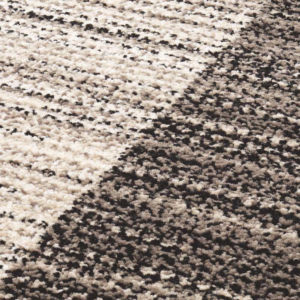ベルギー製ウィルトン織りラグ〈インフィニティ〉 [素材アップ]シンプルでもグラデーションのような柄出しで奥行きがあります
