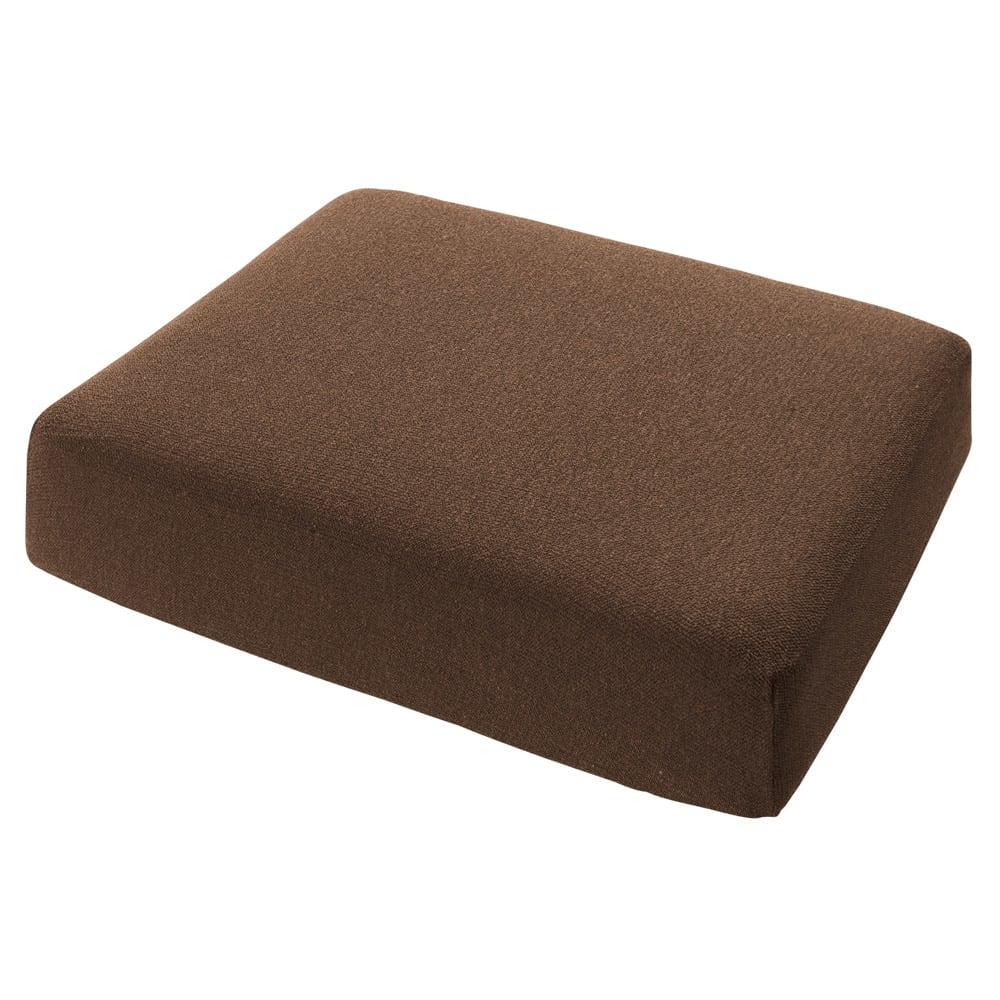 スペイン製カバー[エデン]座面・背もたれ兼用カバー(1枚) (ウ)ブラウン ※写真は1人用サイズです。