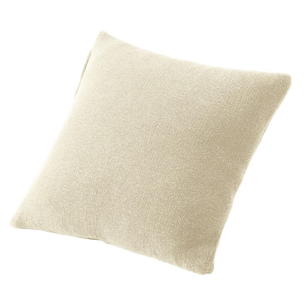 スペイン製カバー[エデン] クッションカバー(同色2枚組) 約45×45cm (ア)アイボリー ※同色2枚組でのお届けです。