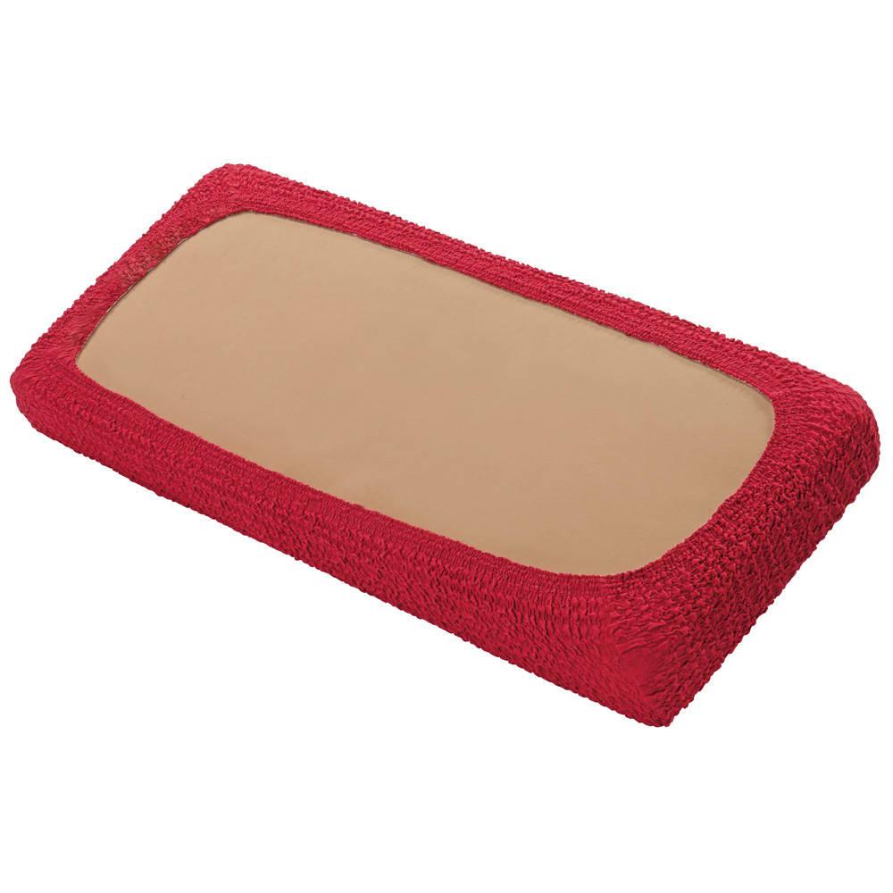 スペイン製カバー〈クルール〉座面・背もたれ兼用カバー(1枚) (ウ)アップル 裏面は全周ゴム仕様。 ※写真は2人掛タイプ。