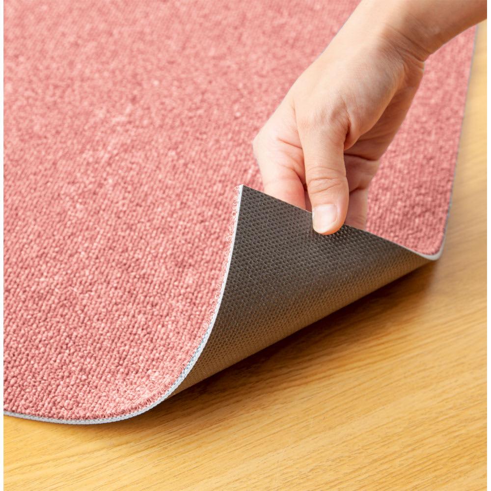 防炎・防音タイルカーペット(約50cm角) 厚さ約6.5mm、厚手でしっかり。