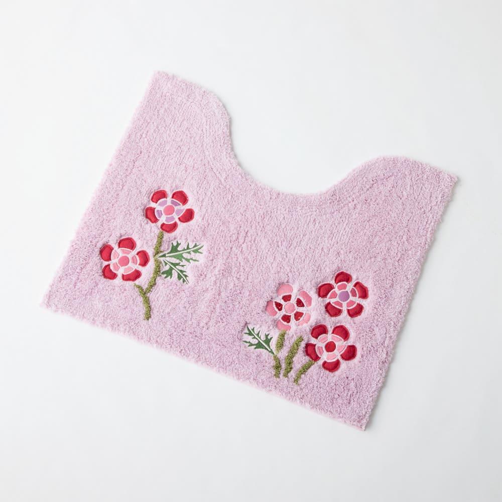 シビラ トイレタリー〈アエログラフォ〉 トイレマット単品 (イ)ピンク系 ミニサイズ