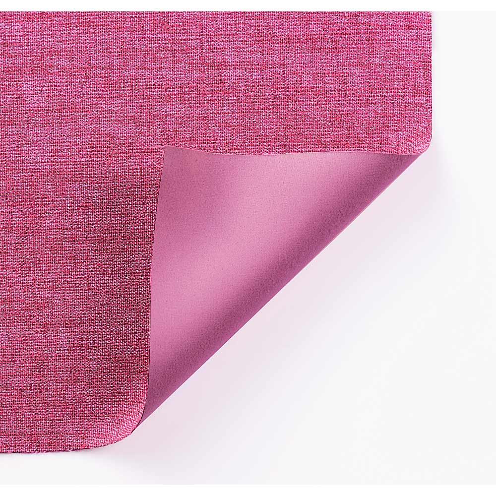 ミックス調防炎・遮光カーテン (イージーオーダー)(1枚) (カ)オペラピンク系 染まりの違う2種類の糸で濃淡を出した、美しい織りのミックス調。裏は表と同系色。
