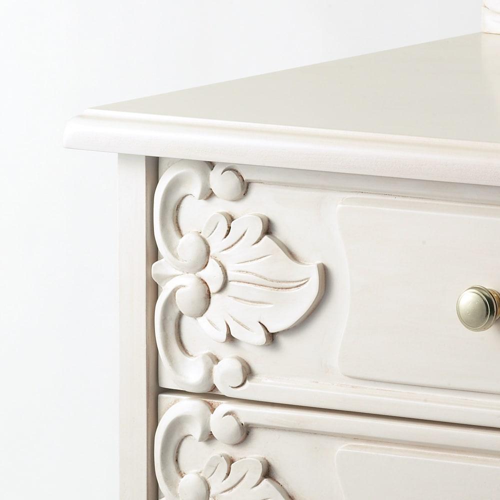 アンティーククラシックシリーズ アンティーク風コンソールテーブル(机) 古びた味わいのアンティーク仕上げ。(写真は別商品です。イメージとしてご覧ください。)