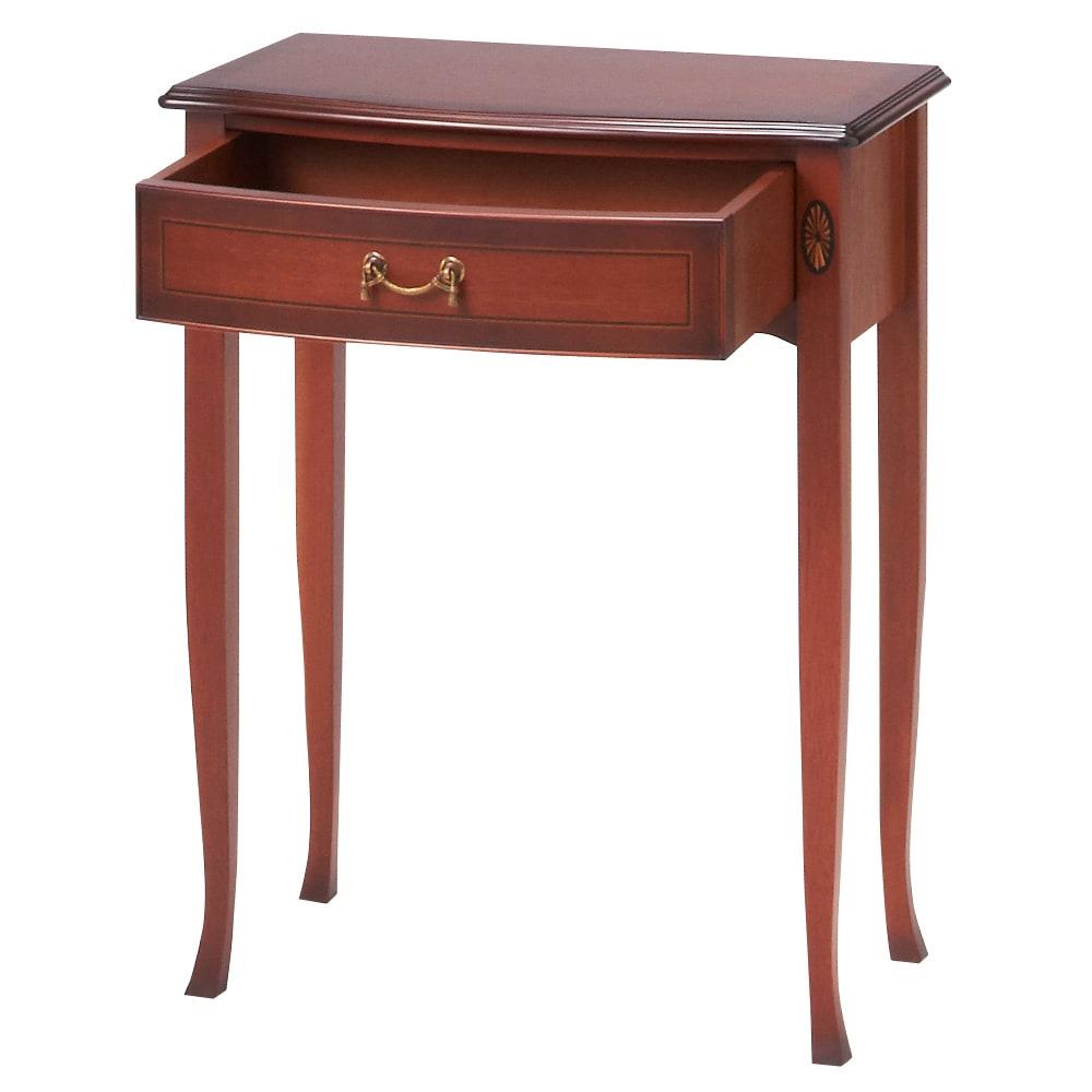 ベネチア調象がんシリーズ コンソールテーブル 小物の収納に便利な引出付き。