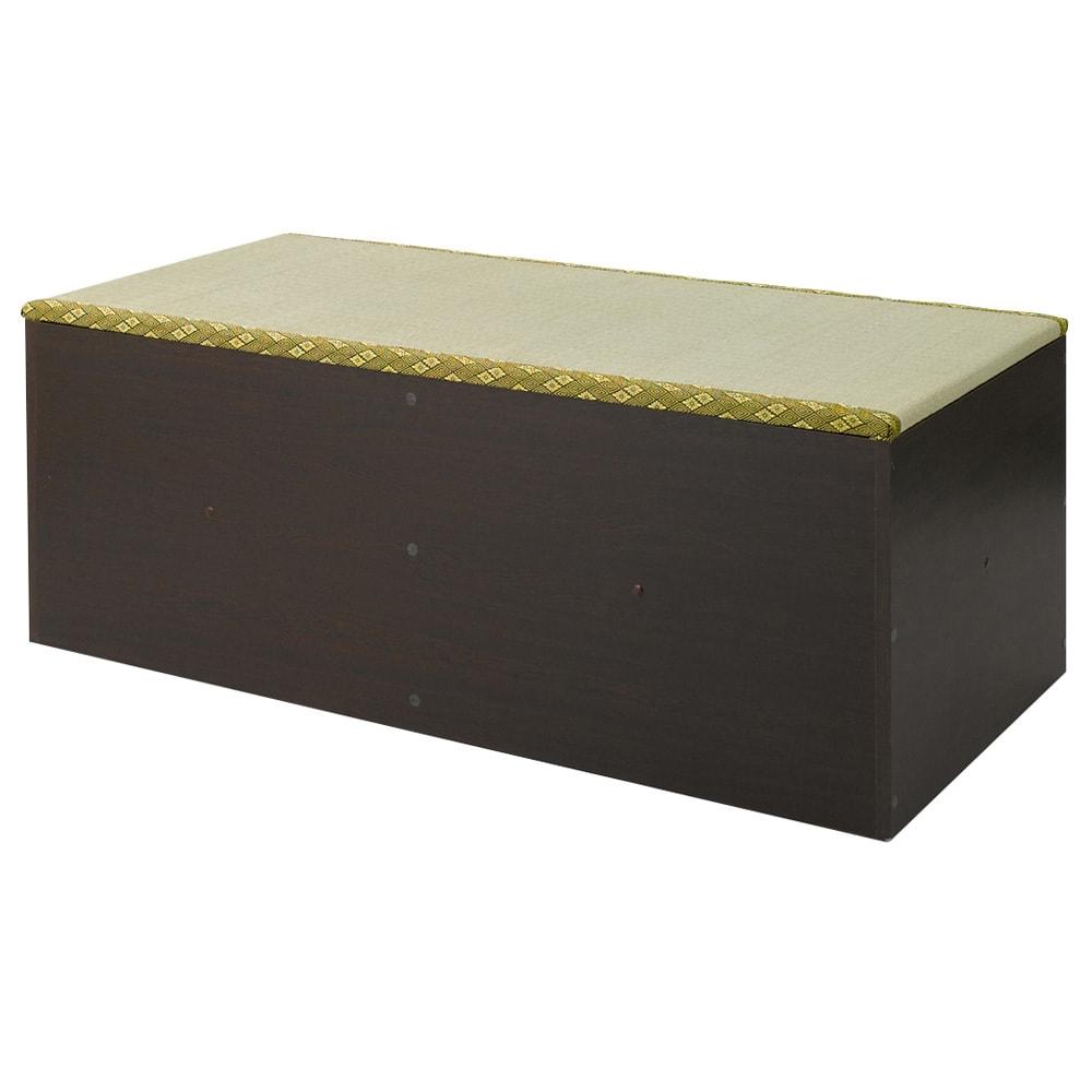 ユニット畳シリーズ 1畳 高さ45cm (ア)ダークブラウン