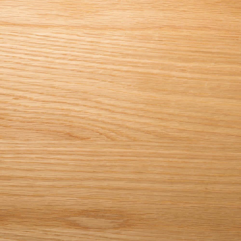 オークカウンター下収納庫 奥行22高さ85cm 引き戸・幅120cm 木目がきれいなオーク突板を前板に使用。