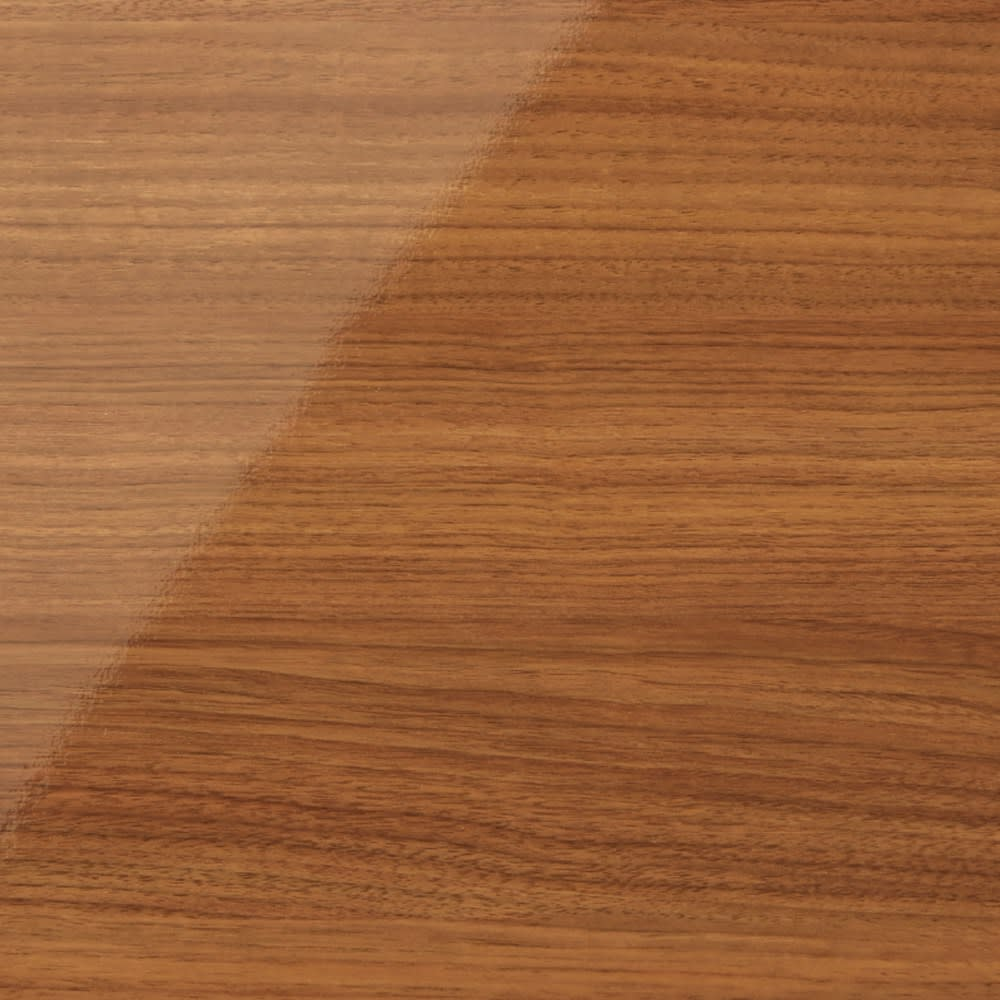スクエア光沢木目カウンター下収納  引き出し 幅25~45cm(1cm単位オーダー)奥行29cm (イ)ブラウン 華やかな色味の明るい茶色は、お部屋を明るくあたたかな空間へと演出。
