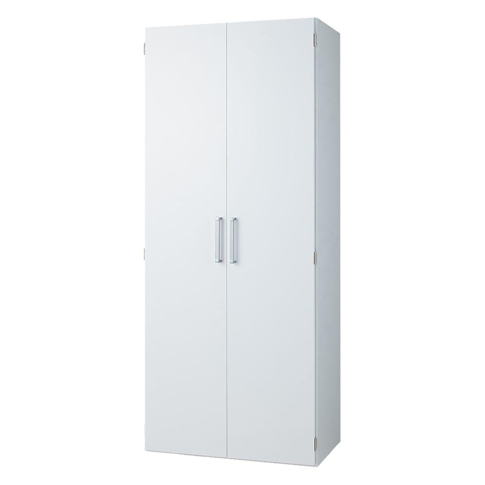 食器が探しやすく取り出しやすい食器棚 幅75cm (ア)ホワイト
