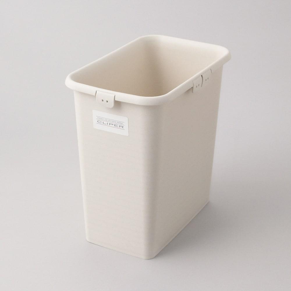 ステンレス天板ダストボックス 縦型2分別 ゴミ箱ペールサイズ(9L)・・・幅28奥行18高さ28cm