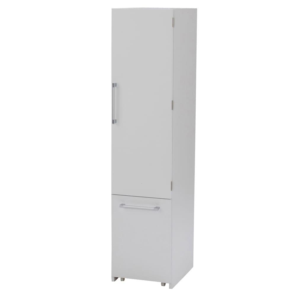 組立不要 キッチン分別タワーダストボックス 4分別 ゴミ箱タイプ 扉閉め時