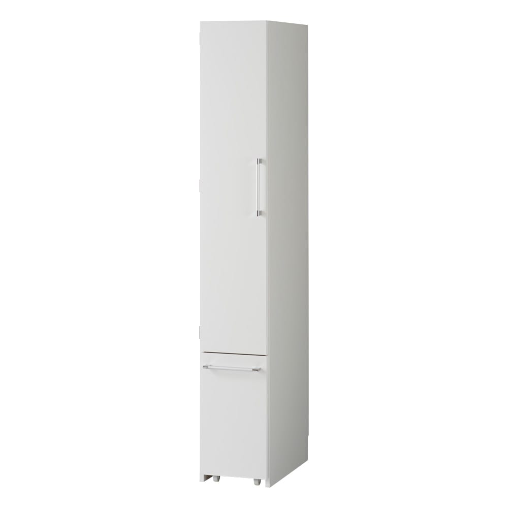 組立不要 キッチン分別タワーダストボックス 幅28.5cm スリム4分別 ゴミ箱タイプ (ア)ホワイト