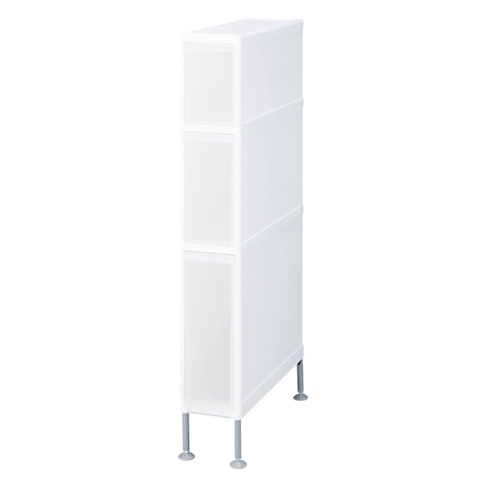 家具 収納 トイレ収納 洗面所収納 段差がまたげる隙間収納 アジャスター付きストッカー スリム中2深1 幅14高さ92cm 551448