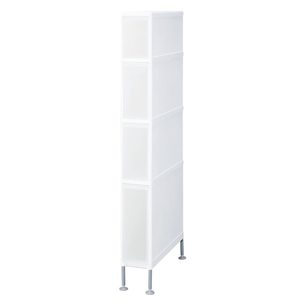 段差がまたげる隙間収納 アジャスター付きストッカー スリム中3深1 幅14高さ117.5cm 商品イメージ