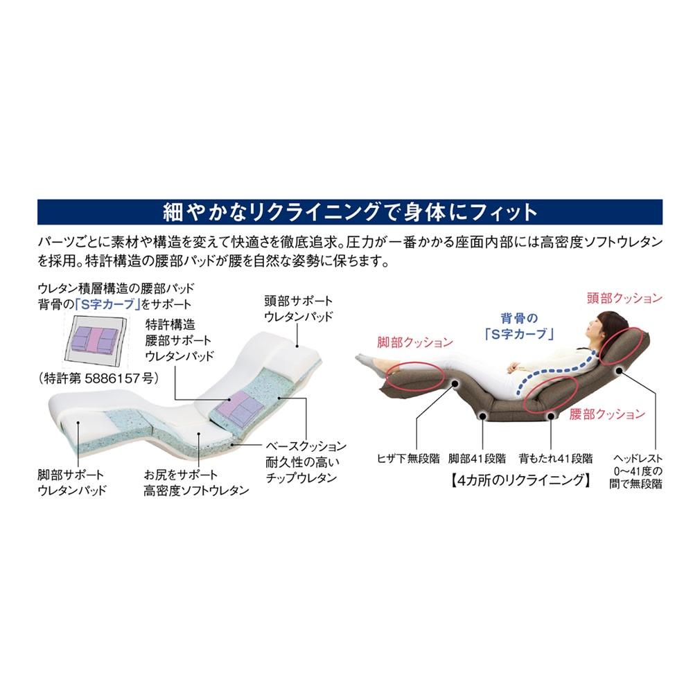 産学共同研究から生まれたネオボディサポートチェアII・幅57cm