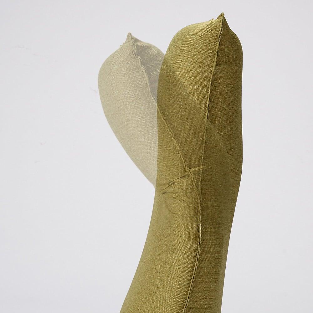 産学共同研究から生まれたネオボディサポートチェアII ワイドロング・幅65cm 頭部は0~41度の間で無段階で調節できます。(※イメージ画像)