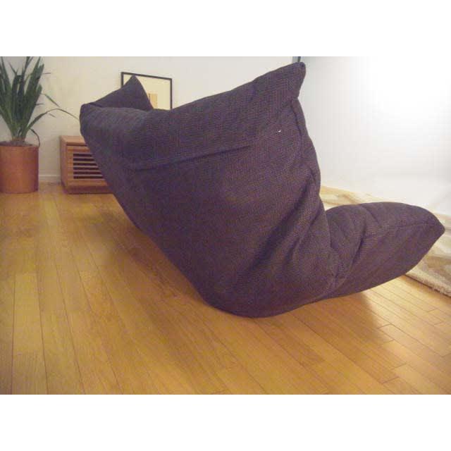 国産・高機能!洗えるカバーリング 低反発マルチリクライニングハイバックソファ 背面も表面と同じ生地で綺麗な仕上げ