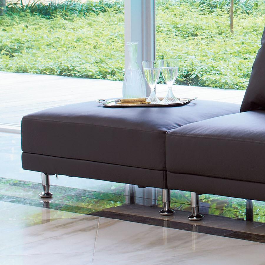 家具 収納 ソファー オットマン シンプルスタイルコーナーソファシリーズ スツール(オットマン)幅67cm 552010