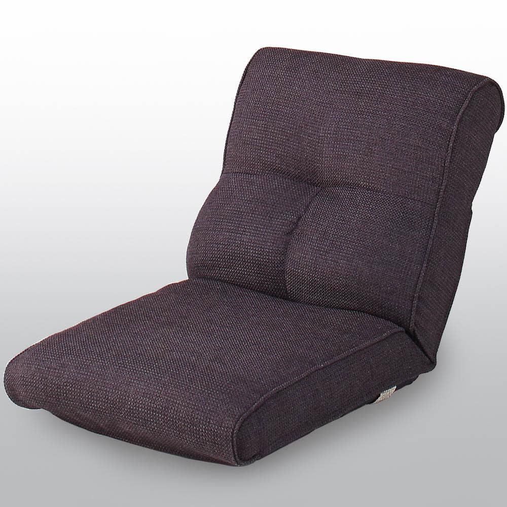 座椅子にもなる!2way省スペースソファ ラブソファ・幅126~167cm (分離時リクライニング座椅子)