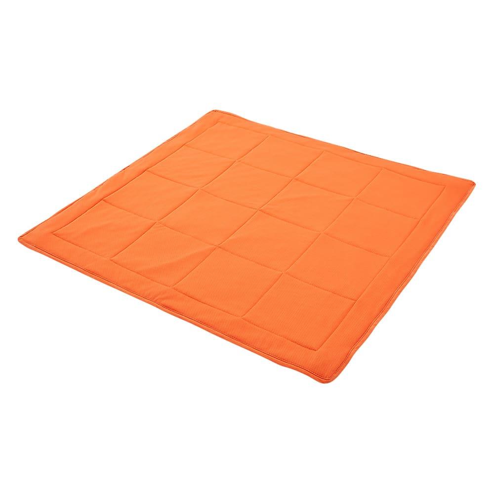 包まれる幸せのごろ寝ソファ 夏用サラサラ替えパッド 大ソファ用 (ウ)オレンジ