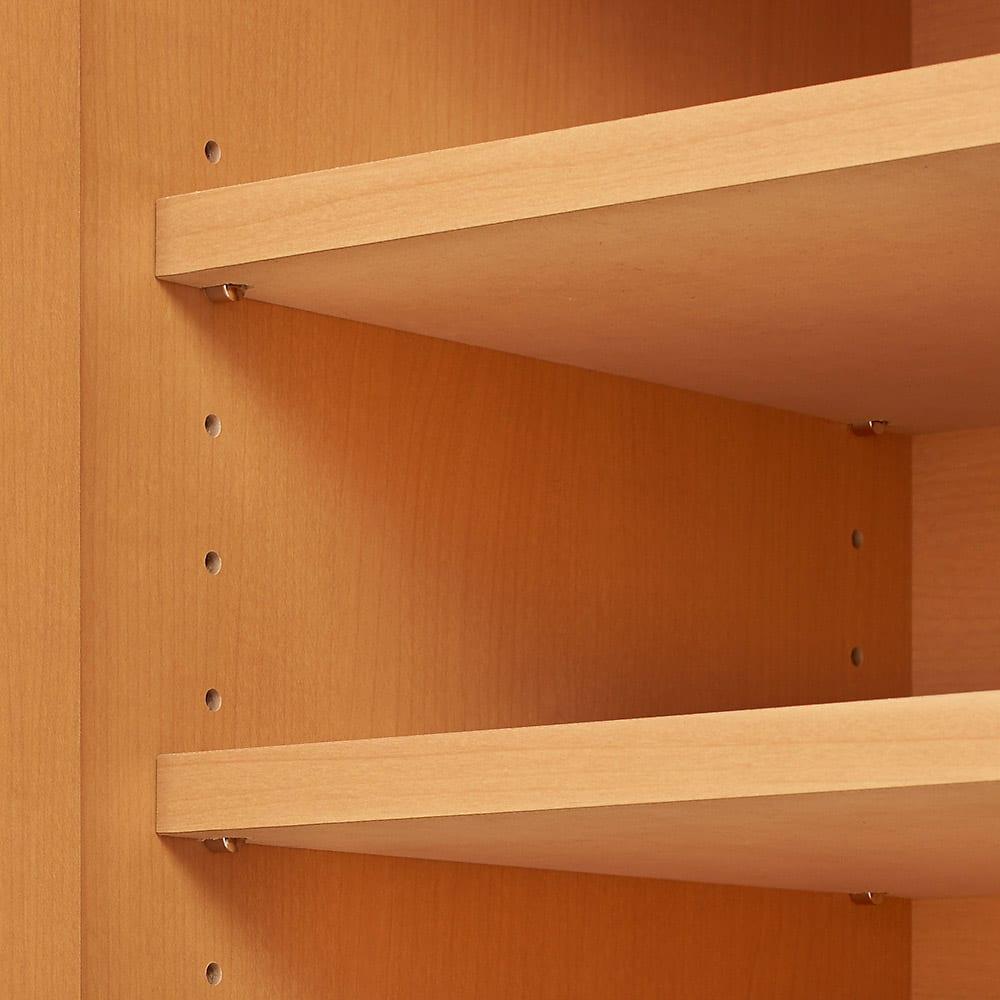 【完成品・国産家具】ベッドルームで大画面シアターシリーズ テレビ台 幅120高さ55cm 可動棚2枚つき
