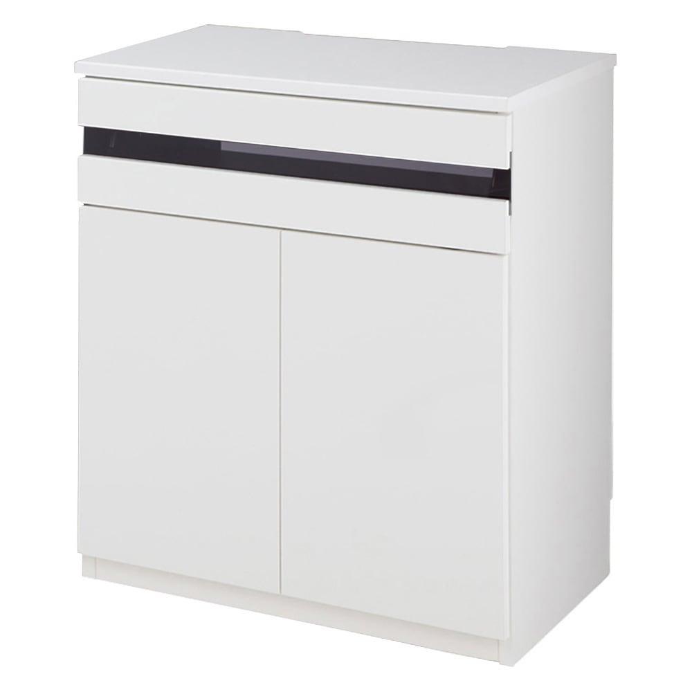 ラインスタイルハイタイプテレビ台シリーズ テレビ台・幅60cm (イ)ホワイト