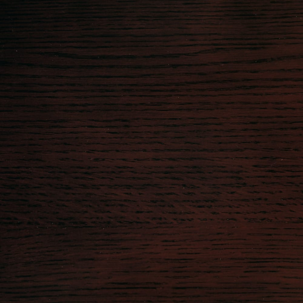 オーク材アールデザインシリーズ テレビ台 幅120cm 高級感があり落ち着いた印象の(イ)ダークブラウン。オーク材ならではの木目が楽しめます。