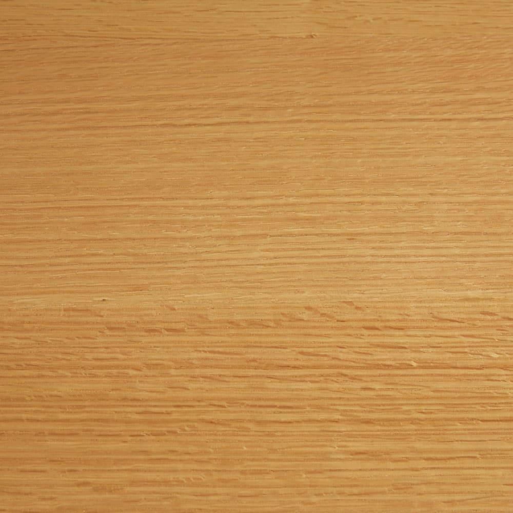 オーク材アールデザインリビングシリーズ テレビ台ハイ 幅120cm 明るく清々しい(ア)ナチュラル