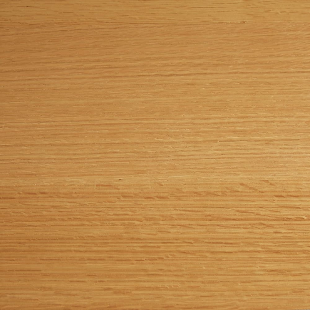 オーク材アールデザインシリーズ サイドボード 幅50cm(右開き) 明るく清々しい(ア)ナチュラル。オーク材ならではの木目が楽しめます。